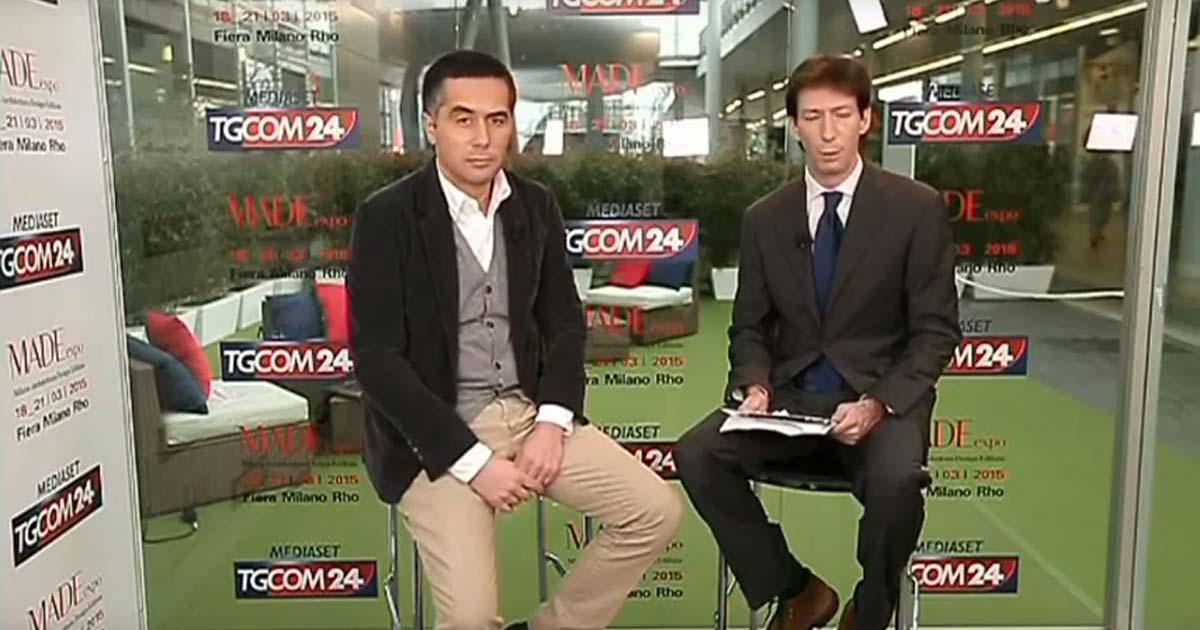 Intervista a TgCom24