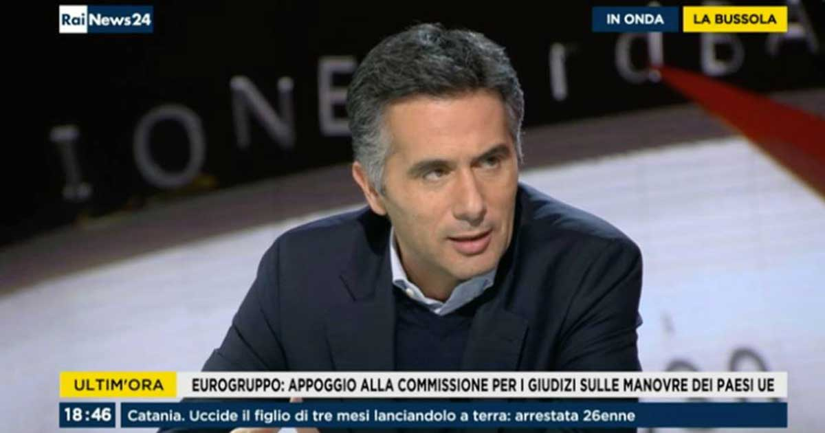 "Intervento a ""La Bussola"" su RaiNews 24"