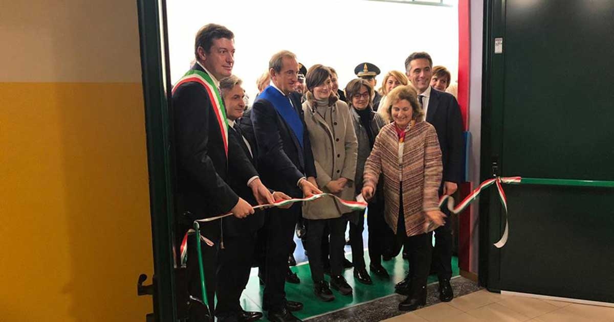 Inaugurazione della scuola a Varese