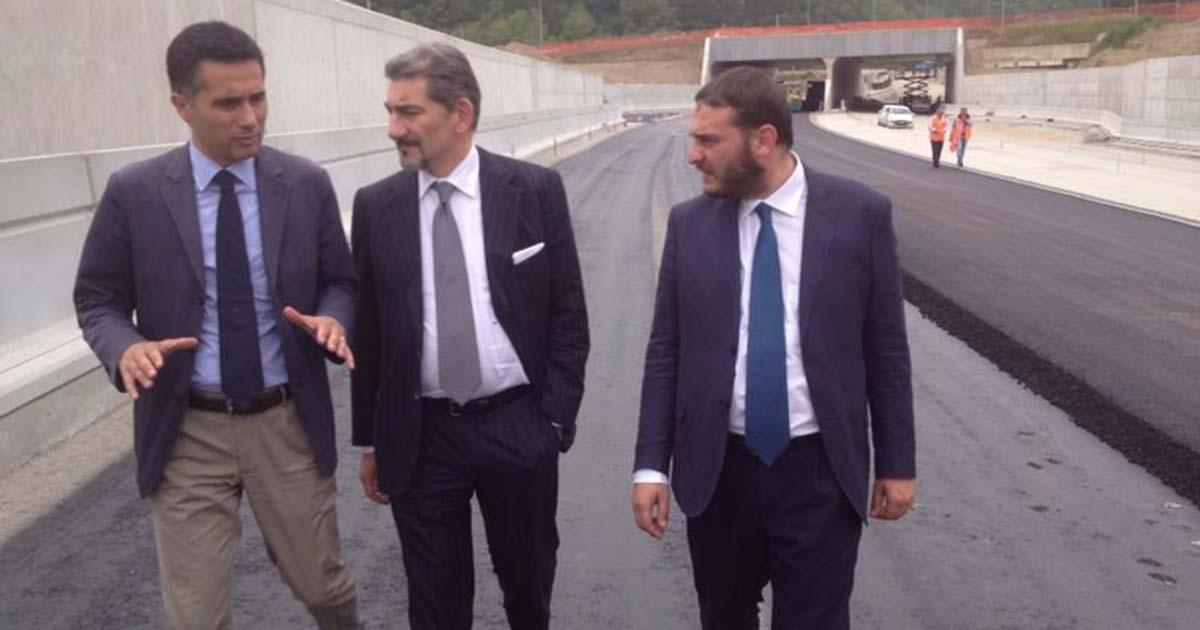 Incontro con i rappresentanti sindacali a Malpensa e sopralluogo al cantiere della Pedemontana