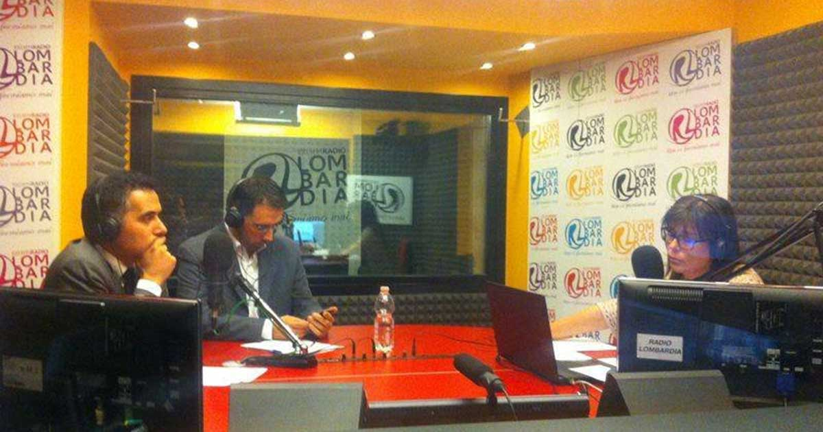 Intervento a Radio Lombardia