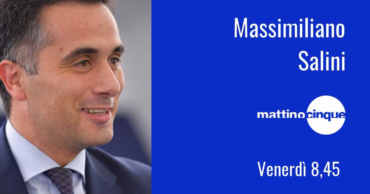 Massimiliano Salini ospite a Mattino Cinque
