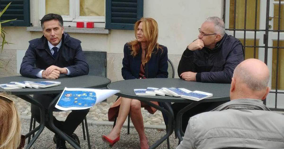 """Presentazione libro """"L'Europa Incompiuta"""" presso Abbazia Mirasole di Opera"""